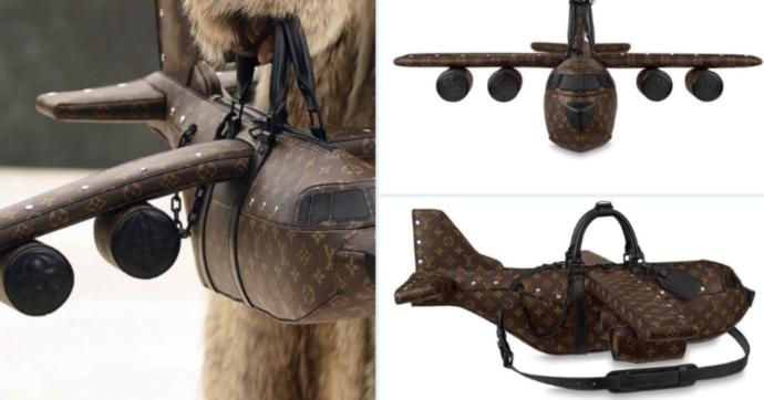 Louis Vuitton lancia una borsa a forma di aereo a 39 mila dollari. Cara? Più che altro brutta