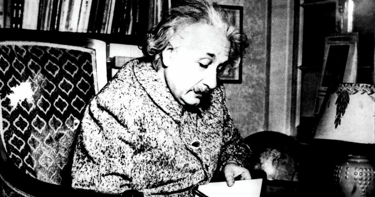 """""""Pronto, sono Albert"""": le confessioni di Einstein"""