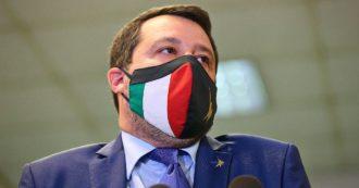 """""""Riaprire anche i locali al chiuso e stop al coprifuoco"""". Salvini torna a minacciare il governo. L'asse con Renzi: """"Chiediamo una commissione d'inchiesta sulla pandemia"""""""