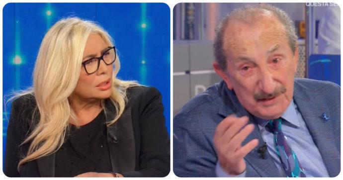 """Domenica In, Franco dei Ricchi e Poveri si commuove: """"Mi viene da piangere"""". Poi la rivelazione di Mara Venier"""