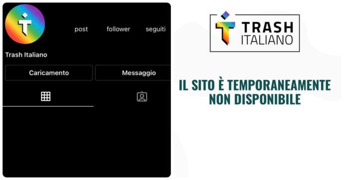 """Trash Italiano è tornato: """"Ci siamo presi del tempo per valutare la situazione"""". Ecco come sono andate le cose"""
