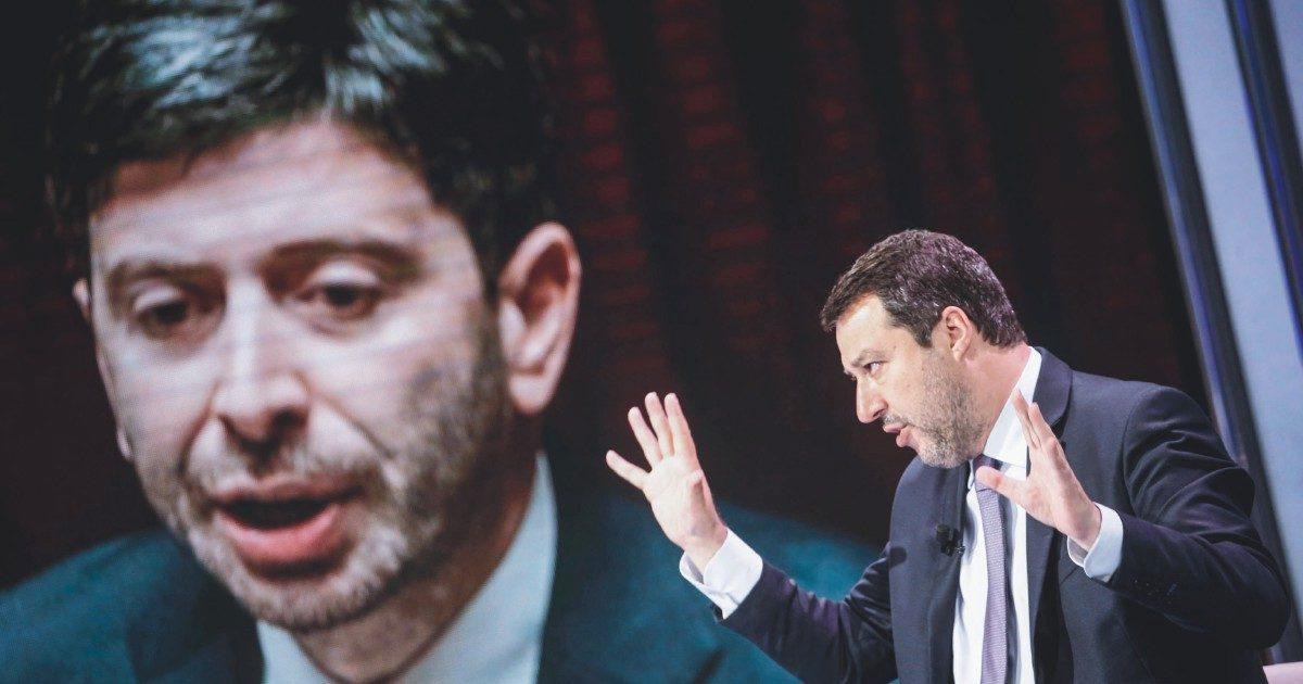 """Salvini (con Renzi): Norimberga sul Covid ed """"emergenza"""" breve"""
