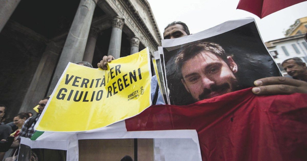 """Il testimone: """"Giulio Regeni nella macchina del dolore"""""""