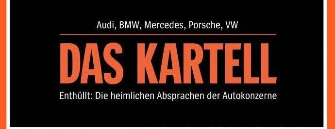 Cartello dei costruttori auto tedeschi: presto le prime multe