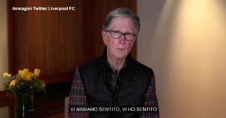 """Superlega, il boss del Liverpool si scusa con i tifosi: """"Vi abbiamo deluso, io unico responsabile di quanto successo"""" – Il videomessaggio"""