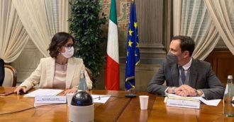 Scuola e coprifuoco, Regioni contro Draghi: 'Incontro urgente prima di pubblicare il decreto'. Gelmini: 'Sul rientro in aula previste deroghe'