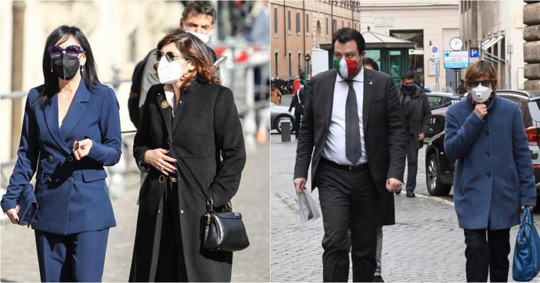"""Ciro Grillo, Macina (M5s): """"Bongiorno ha fatto vedere il video anche a Salvini?"""". Lega chiede le dimissioni, Cartabia la convoca: """"Serve riserbo su questioni giudiziarie"""""""