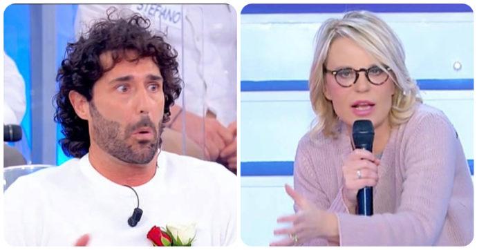 """Uomini e Donne, Maria De Filippi senza freni: """"Se non te lo dice nessuno, te lo dico io"""". Luca Cenerelli fa una figuraccia"""