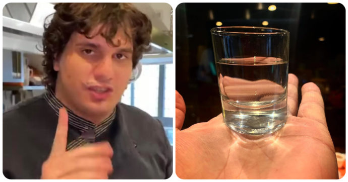 """Carbonara da bere, la nuova invenzione del vincitore di Masterchef Valerio Braschi. Tre ore di preparazione e """"le stesse calorie di un bicchiere d'acqua"""""""