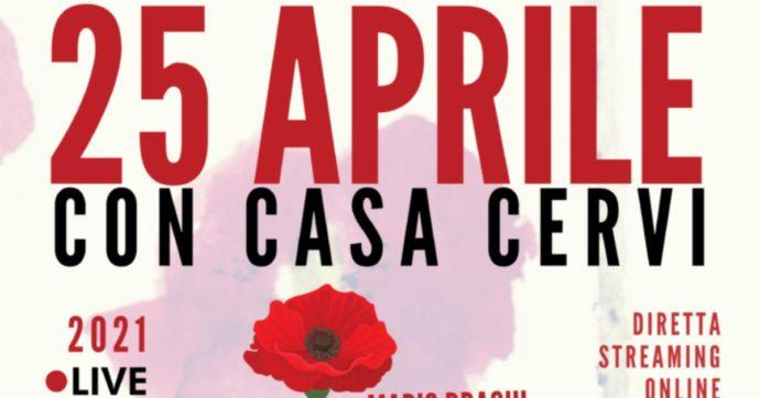 25 aprile, Mario Draghi parteciperà alle celebrazioni in streaming di Casa Cervi