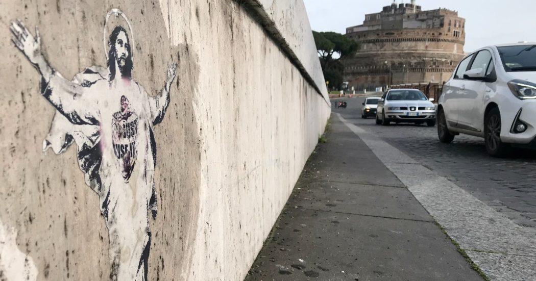 Vaticano utilizza un'opera di street art per il francobollo di Pasqua, poi non risponde all'autrice. Che ora chiede 130mila euro di risarcimento