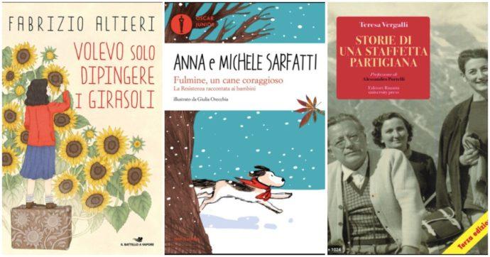 25 aprile, 10 libri per bambini e ragazzi sulla Liberazione dell'Italia dal regime fascista e il ruolo dei partigiani
