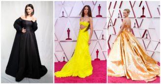 Oscar 2021, le pagelle ai look del red carpet: Laura Pausini vera diva in Valentino, Chloè Zao bocciatissima – FOTO