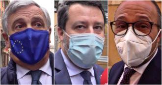 """Mozione di sfiducia contro Speranza, Salvini: """"Prima parlo con Sileri, poi decido"""". Forza Italia e Italia viva: """"Votiamo no"""""""
