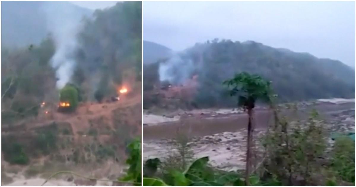 Myanmar, gruppo ribelle conquista e distrugge una base militare birmana sul confine orientale thailandese (Video)