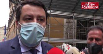 """Coprifuoco, Salvini esulta per la mozione della maggioranza: """"L'obiettivo è cancellarlo se i dati sono buoni. Sancito un principio"""""""