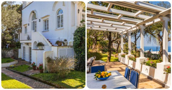 Capri, Christian De Sica vende la sua villa extralusso: ecco dove si trova e quanto costa