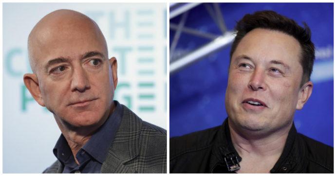 'Guerra spaziale' tra Jeff Bezos e Elon Musk. Il fondatore di Amazon fa causa alla NASA. Ecco perché