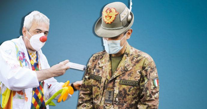 In Edicola sul Fatto Quotidiano del 30 Aprile: Figliuolo smentito: vaccini al ralenty. Fanalini di coda