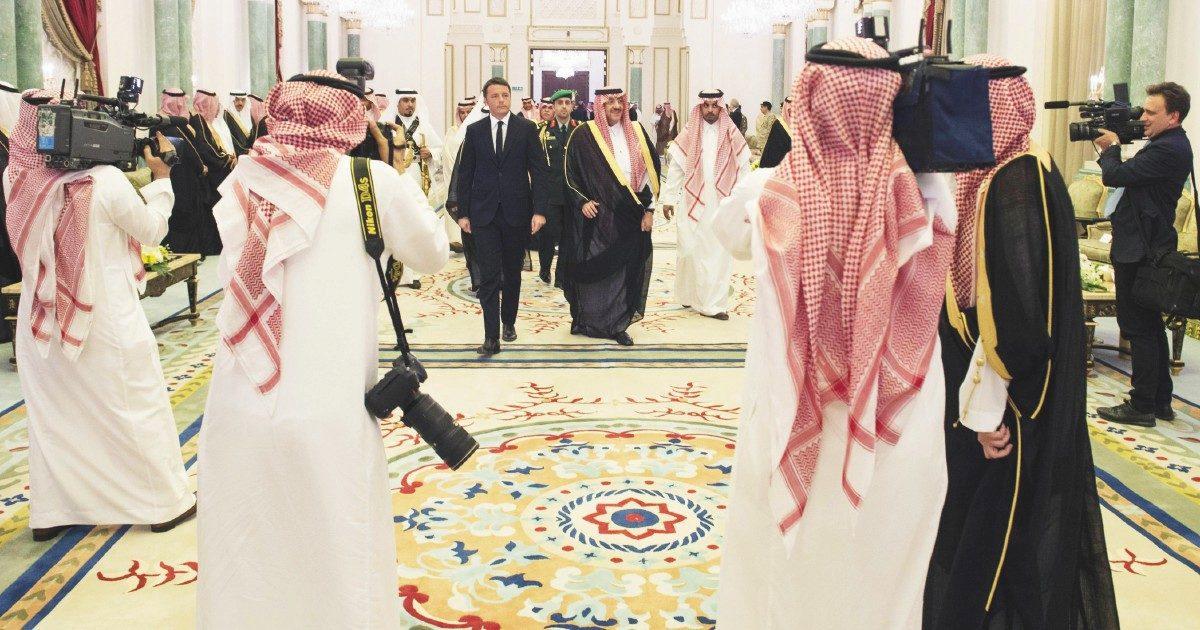 L'ultima di Renzi il Saudita: editorialista di Arab News