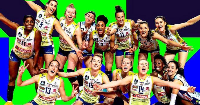 Imoco Conegliano campione d'Europa di volley femminile: Vakif Instanbul battuta al quinto set