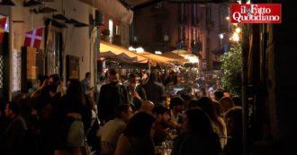 """Napoli, locali pieni e strade affollate nel primo venerdì in zona gialla: """"Assembramenti? Difficile evitarli"""". Tante persone anche dopo le 22"""