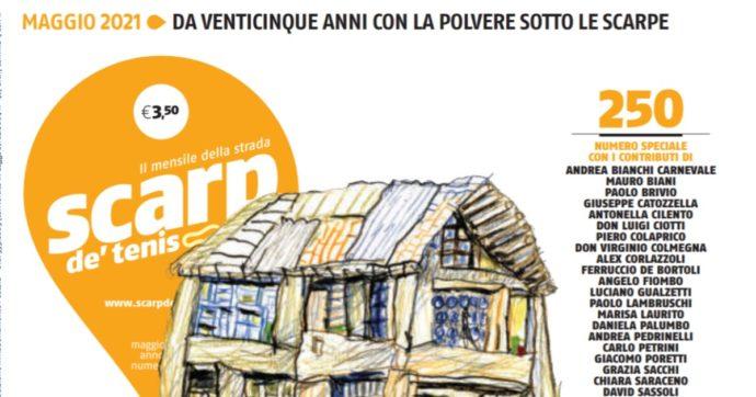 """Scarp de' Tenis, i primi 25 anni del mensile di strada della Caritas. Delpini: """"Senza questo giornale Milano sarebbe più muta"""""""