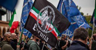 """""""Bella ciao una provocazione"""", il servizio del Tg3 regionale dell'Emilia-Romagna sul raduno dei """"Patrioti"""" di estrema destra"""