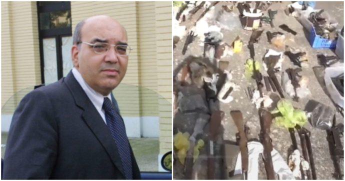 """Arrestato di nuovo l'ex giudice De Benedictis: """"L'arsenale da guerra scoperto ad Andria era suo"""". In carcere anche un militare dell'Esercito"""
