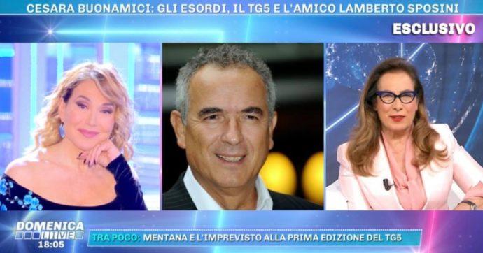 """Domenica Live, Cesara Buonamici rompe il silenzio su Lamberto Sposini: """"Non riesco a parlare di quel momento, è troppo doloroso"""""""