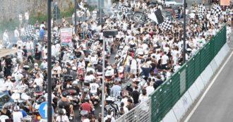 Festa Inter a Milano, precedente di La Spezia: folla in strada per la promozione in A e dopo 2 settimane prima zona rossa della 2° ondata