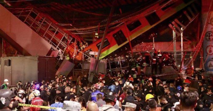 Città del Messico, crolla ponte al passaggio di un treno della metropolitana: 23 morti e 70 feriti