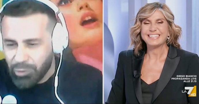 """L'Aria che Tira, Luca Tommassini a Myrta Merlino: """"Mi sono innamorato di te"""""""