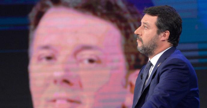 """Incontro Renzi-007, Salvini difende il leader di Iv: """"Polemica inesistente, io ho visto decine di agenti segreti"""""""
