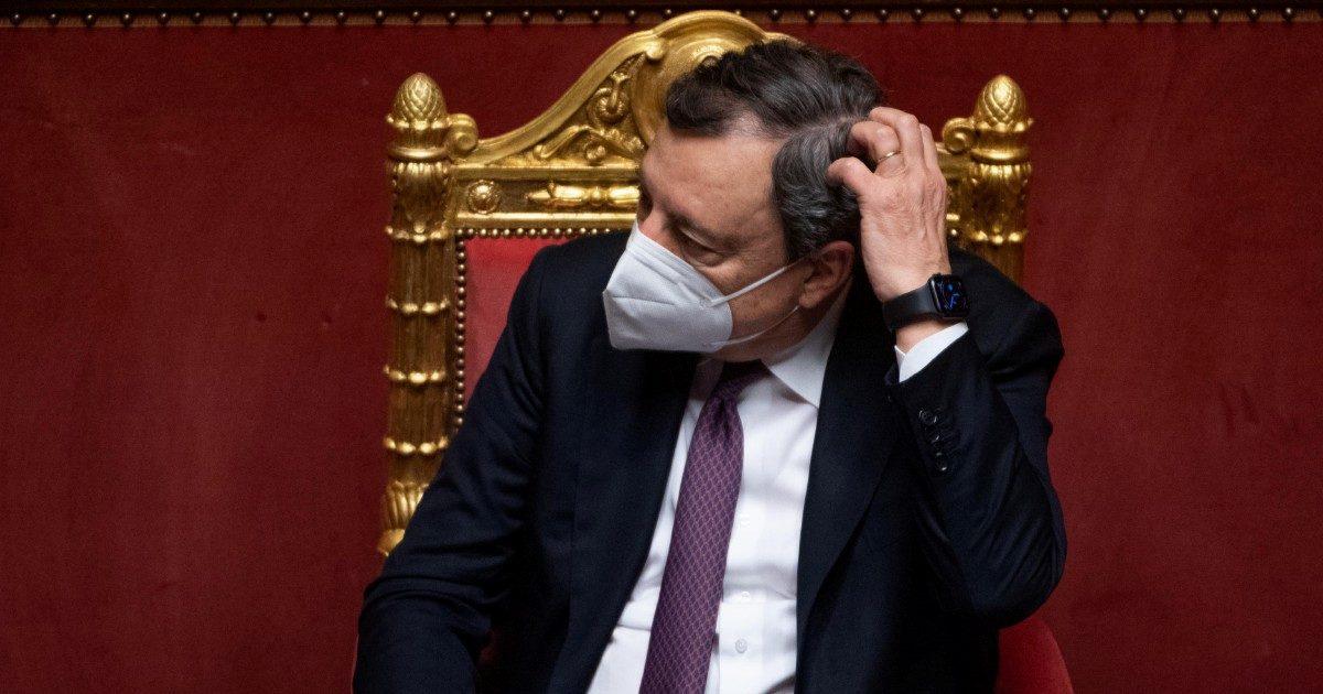 Draghi, gradimento in picchiata. Luna di miele finita in due mesi