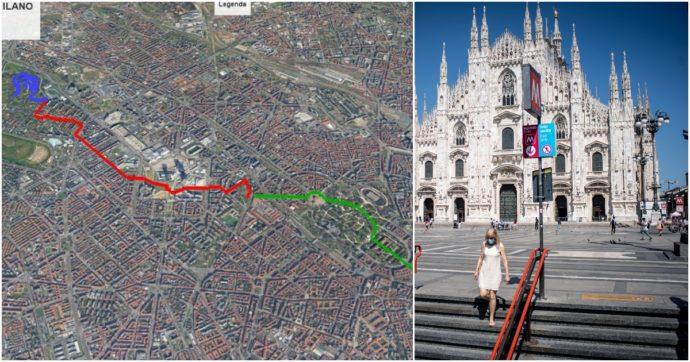 A Milano il primo sentiero urbano inserito nel catasto del Club alpino: i 9 chilometri (quasi tutti in pianura) dal Duomo alla Montagnetta
