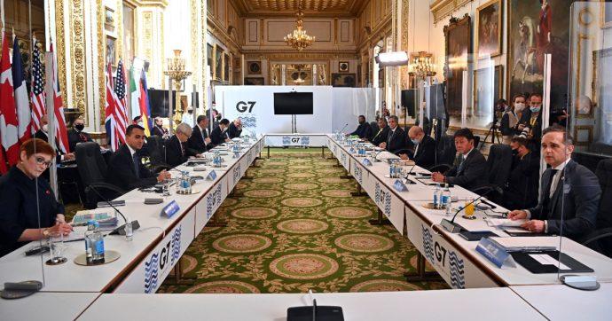 """I leader del G7 contro Russia e Cina: """"Basta comportamenti minacciosi, repressione degli oppositori e violazioni dei diritti umani"""""""