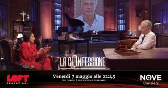 """Nunzia De Girolamo a La Confessione (Nove) di Peter Gomez: """"Giletti sindaco di Roma? Sarebbe bravo, ma glielo sconsiglierei: in politica ci si fa male sul serio"""""""