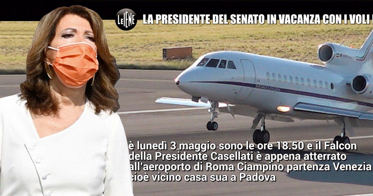 Casellati, altro weekend di voli di Stato per tornare a Padova