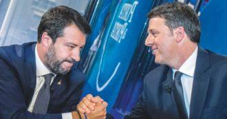 """Renzi, l'ultimo asse con Salvini è sulla giustizia: """"Il referendum? Sì, è un'iniziativa molto utile"""""""