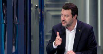 """""""Abolire la legge Severino"""". Salvini provoca di nuovo il governo: ora vuole raccogliere firme coi radicali per un referendum sulla giustizia"""
