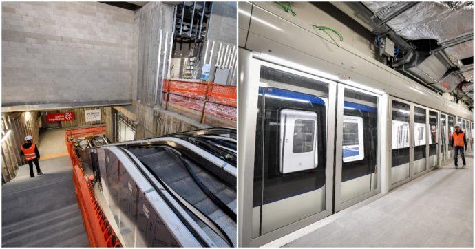 La nuova metro M4 di Milano abbellita con opere d'arte contemporanee, ma devono essere realizzate gratis e senza rimborso delle spese