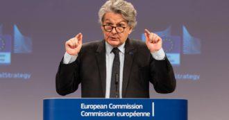 """Vaccini, Breton: """"La commissione Ue non ha rinnovato contratto con AstraZeneca dopo giugno. Vedremo che succede"""""""