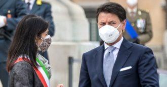"""Roma, Conte blinda Raggi: """"È la candidata del M5s, al ballottaggio dialogo privilegiato col Pd"""". Gualtieri: """"Mi candido alle primarie"""""""