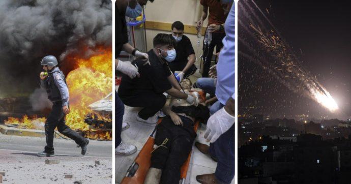 """Israele, l'operazione contro Gaza è solo all'inizio: mai così tante vittime dal 2014. La miccia dell'""""ordine di sfratto"""" a Gerusalemme"""