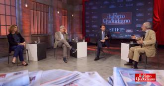 Dall'alleanza con il Pd al doppio mandato per gli eletti M5s, fino all'incontro tra Renzi e lo 007: l'integrale di Conte al Forum del Fatto – video