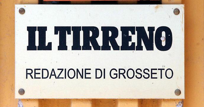 """Sciopero al Tirreno e altre tre testate Sae dopo annuncio ricorso a Cig. I giornalisti: """"Disattesi gli impegni della nuova proprietà"""""""