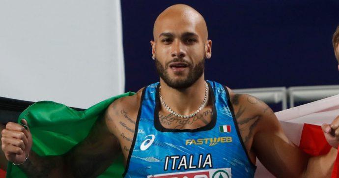 Marcell Jacobs corre i 100 metri in 9″95 e abbatte il record italiano di Filippo Tortu