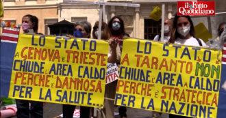 """Famiglie di Taranto a Montecitorio: """"Area a caldo dell"""