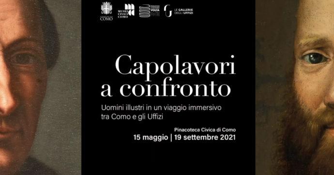 """""""Capolavori a confronto"""": i ritratti di Giovio dagli Uffizi alla Pinacoteca di Como. Al via la mostra temporanea: c'è tempo fino al 19 settembre"""